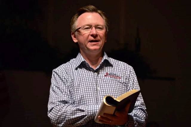 Pastor David Hope