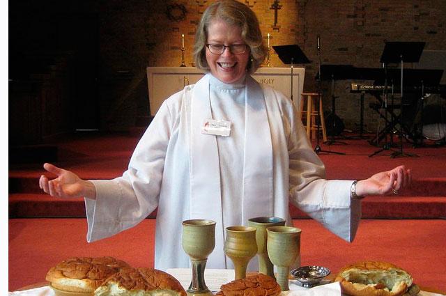 Pastor Lucy Wilson