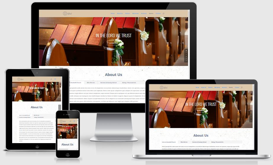 Church Website – DIVI Template